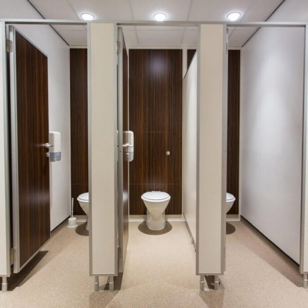 Toilet design at North Yorkshire Police