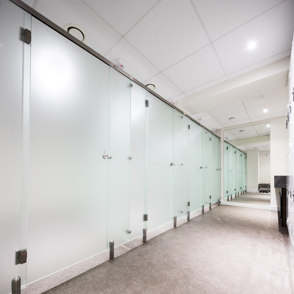 Glass Changing Cubicles